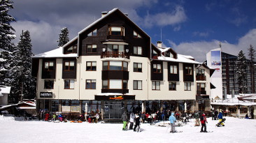 HOTEL ICEANGELS **** BOROVETS