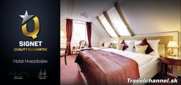 PRVÝ SLOVENSKÝ HOTEL ZÍSKAL NAJVYŠŠIE OCENENIE: SIGNET – QUALITY GUARANTEE