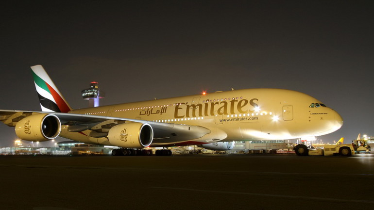 EMIRATES PRERIEDILA LETY DO USA