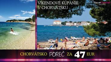 KÚPANIE V CHORVÁTSKU ZA 47 EUR – NAJLACNEJŠIE DOVOLENKY (0008D)