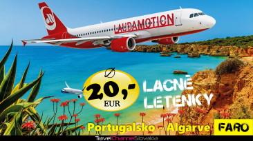 PORTUGALSKO ZA 20 EUR – NAJLACNEJŠIE LETENKY (0013L)