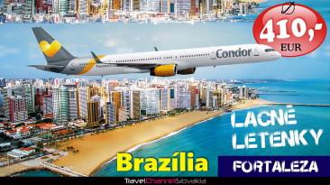 BRAZÍLIA ZA 410 EUR – NAJLACNEJŠIE LETENKY (0015L)